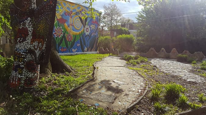 Magical Gardens, 2016. This and many other parks will be restored in the next two years to be wheelchair accessible.
